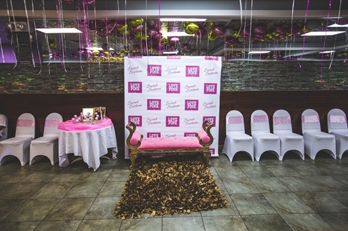 You Can Make A Custom Step And Repeat Backdrop To Make Your Daughters Sweet Party A Red Carpet Event on Red Carpet Themed Sweet 16